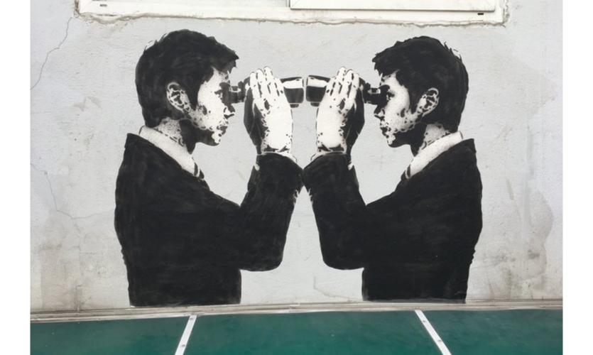 """Street Art: A few exceptions to the otherwise """"cute"""" approach to street art here."""