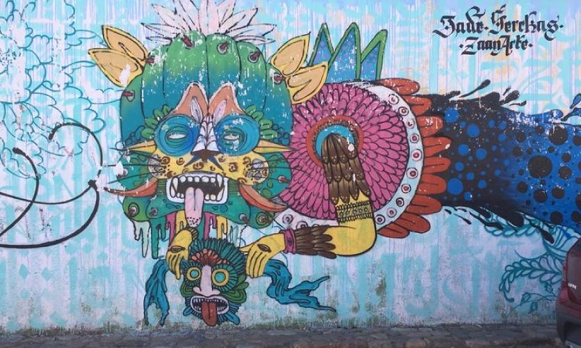 Street Art 2: Zaachila, Mexico (Oaxaca)