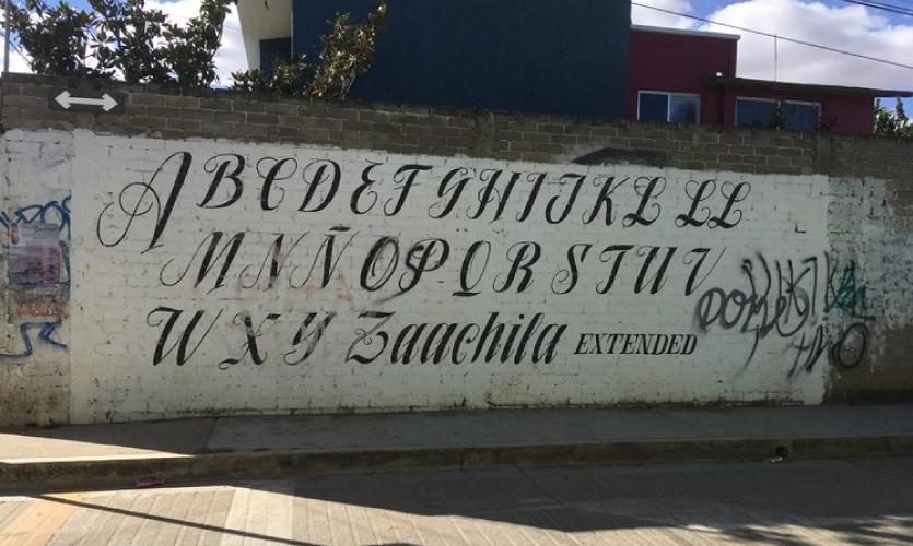 "Street Font: ""Zaachila Extended"""
