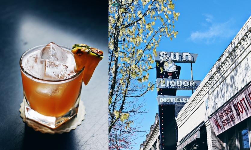 Sun Liquor is more than a bar; it's a lounge, distillery and bottle shop! (Photo: Sun Liquor, Andrea Chapman)