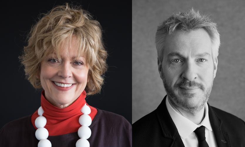 Susan Lyons, President, and David Siegel, Director of Surface Imaging at Designtex
