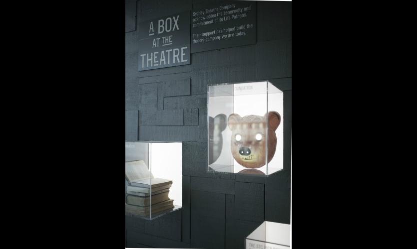 "Minimal text encourages future patrons to ""take a box."""