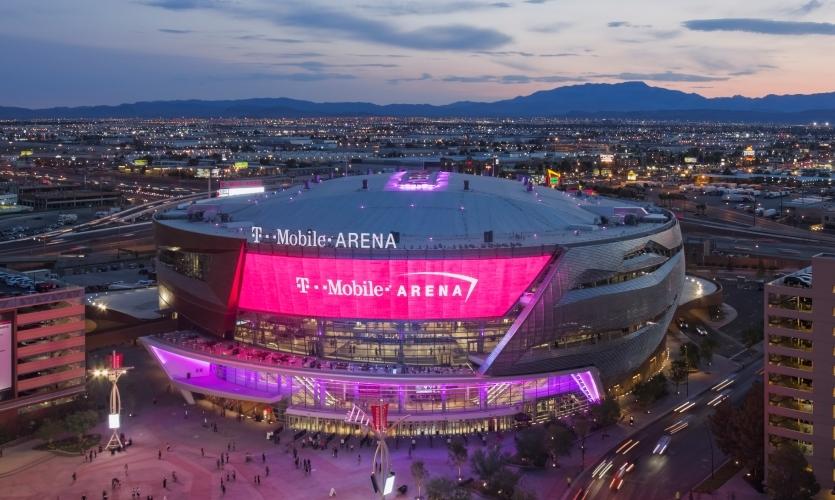 T-Mobile Arena | Las Vegas | 2016 | Populous, Populous Activate, Selbert Perkins Design, Daktronics