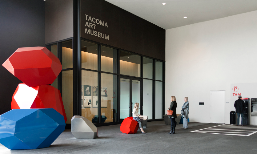 Studio Matthews, Tacoma Art Museum Rebrand and Sign Scheme, Merit Award 2017