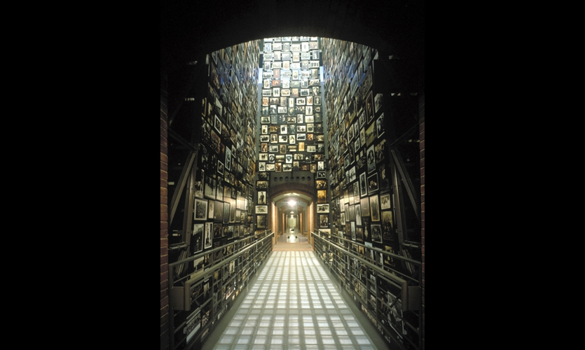 United States Holocaust Memorial Museum (1993). Ralph Appelbaum Associates changed the paradigm for historical exhibits: visitor as participant. In this powerful, immersive experience, Appelbaum achieved a delicate balance between fact and emotion. A masterful piece of visual journalism.