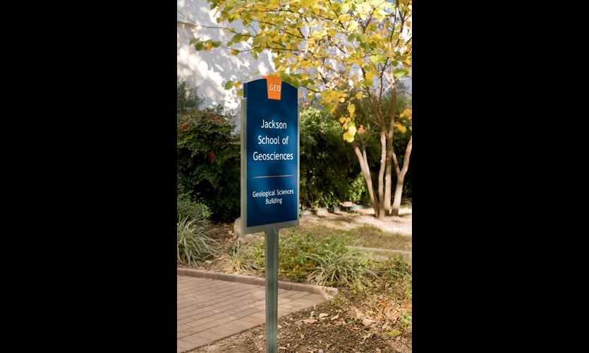 All signs are aluminum coated with Coraflon fluoropolymer for durability.