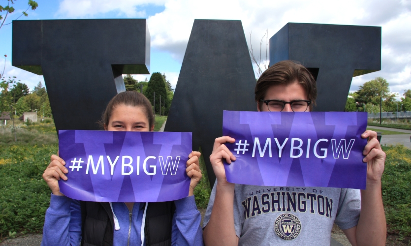 MCD contacted their PR firm and UW a few weeks prior to commencement in May 2016 with an idea for a graduation-coordinated social media campaign: #MyBigW.