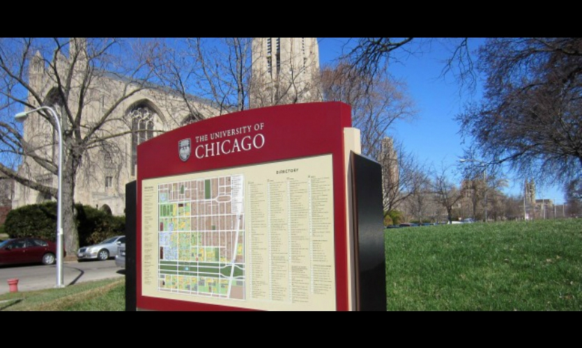 The workshop will also focus on wayfinding for education environments. (Photo: University of Chicago, Cloud Gehshan Associates)