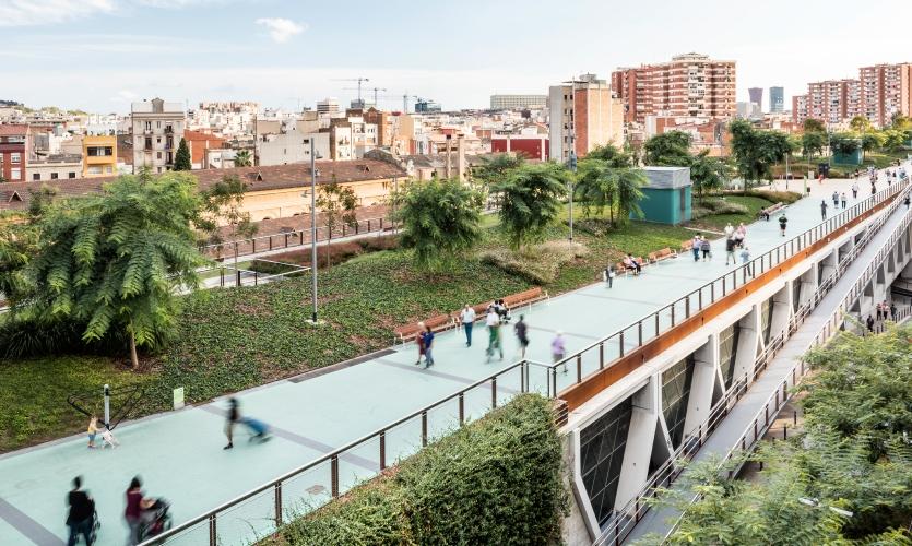 Raised Gardens of Sants | Barcelona, Spain, 2016