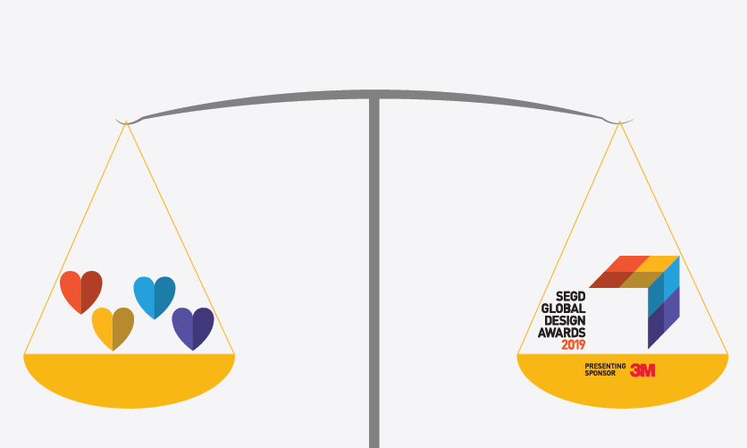 How does Valentine's Day match up to the Global Design Awards?