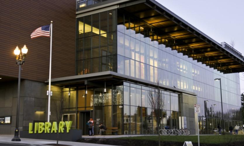 Vancouver Community Library Wayfinding Segd