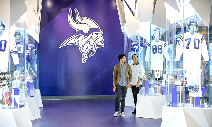 The project brief not only centered around creating an adaptable, multi-use space—it was also very important to create exhibits that would engage the widest range of fans possible.