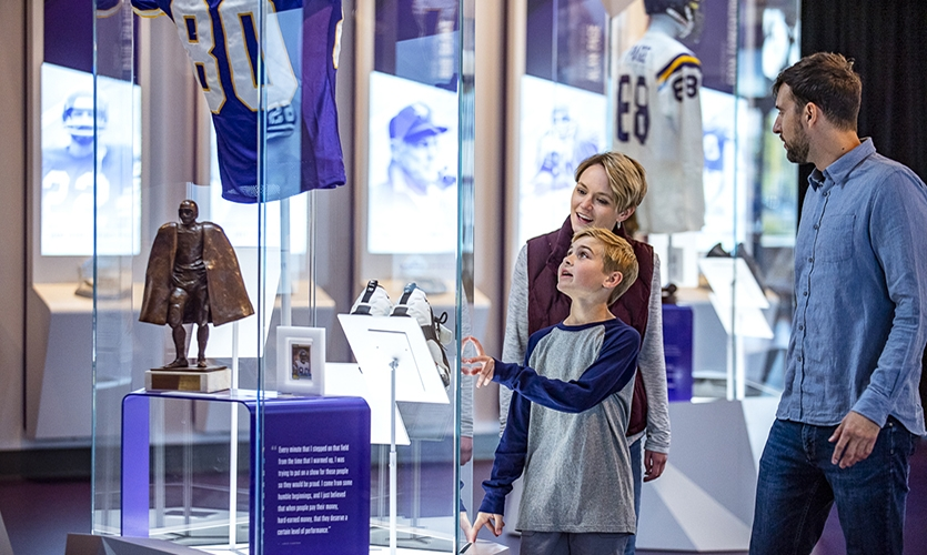 Sharing stories unique to Vikings football stars and familiar to Minnesotans as local legend in a creative and engaging way was paramount.