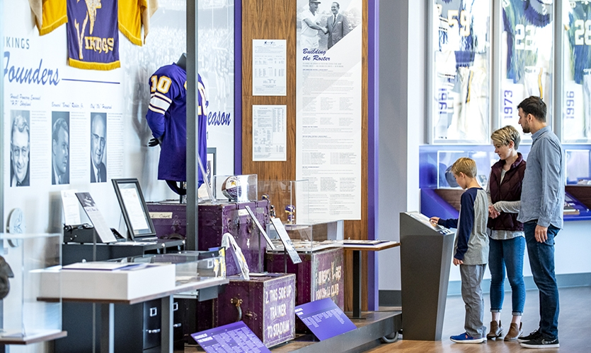 """""""The challenge was appealing to a broad audience and making sure a 10-year-old, who has yet to attend a game, had just as much fun as a 70-year-old diehard fan reliving their own Vikings' memories."""""""