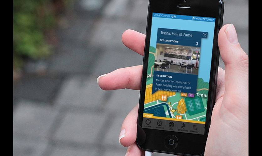 Wayfinding Apps (2009). Maps, wayfinding, and interpretation, all in your handheld device. Download in advance or on site with just a click. Now with GPS. Is this the future of way finding? (Photo: W&Co.)
