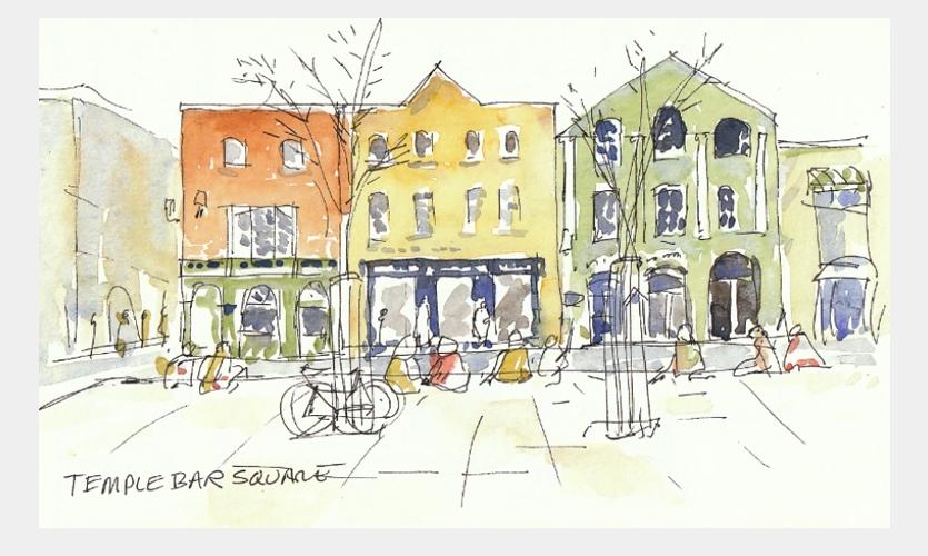 Temple Bar Square, Dublin