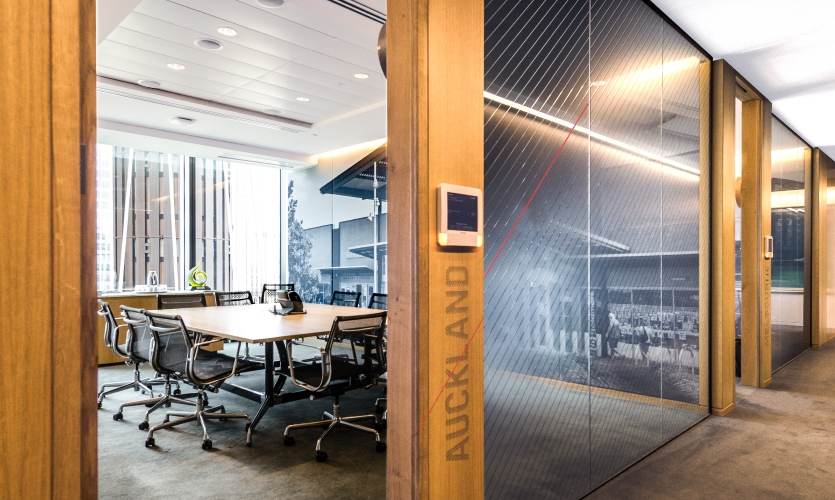 Meeting rooms and spaces were given names where flagship shopping centers are located.