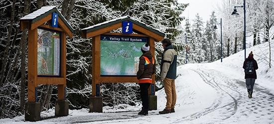 Merje Signage for Whistler, Canada