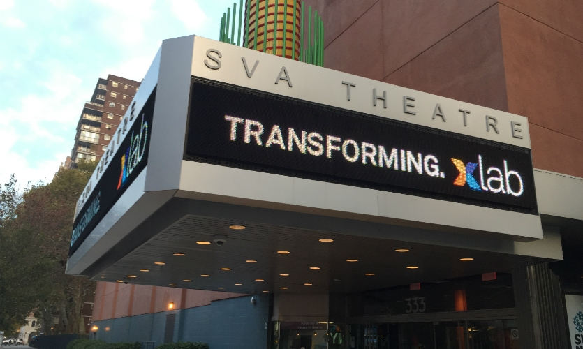 Xlab 2015 was held Nov. 5 at the SVA Theatre in Chelsea.
