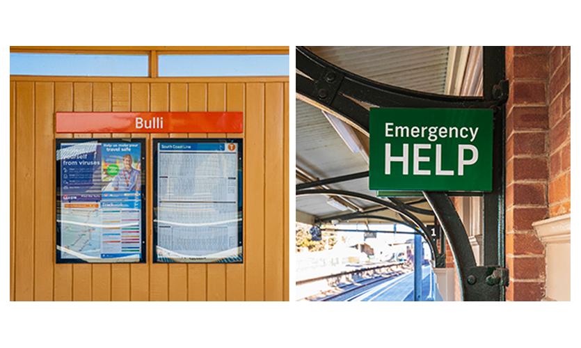 Bulli station signage