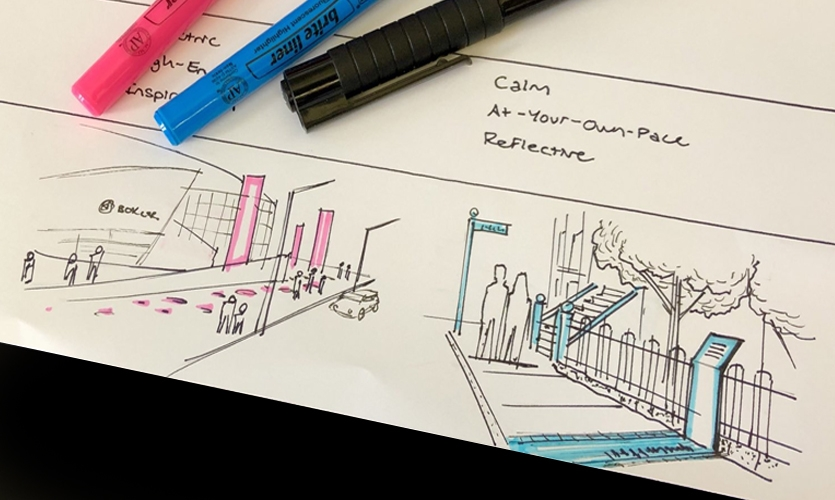 Rapid studies for civic placemaking.