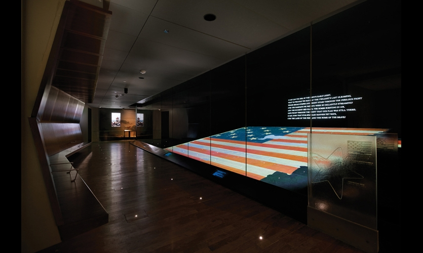 When the Smithsonian's National Museum of American History reopened in 2008 after an extensive renovation, it unveiled a new permanent exhibition for the Star-Spangled Banner. C&G Partners designed one of the largest display environments ever created for a single object.