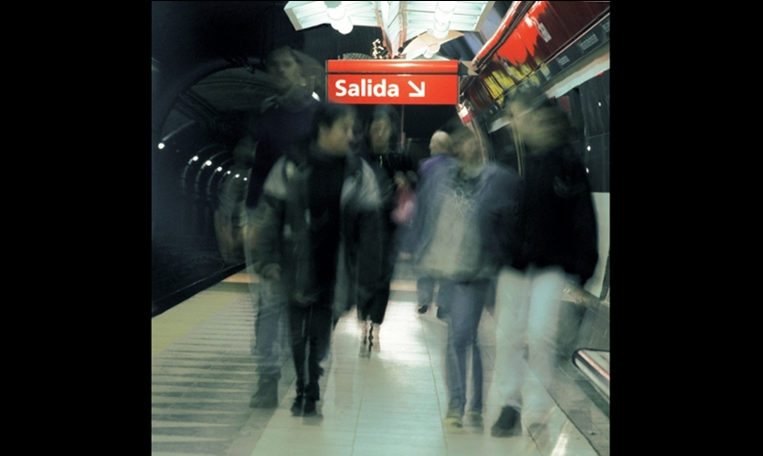 Shakespear says subway riders have a natural anxiety about being underground, so exit signs are the most important element of the system.