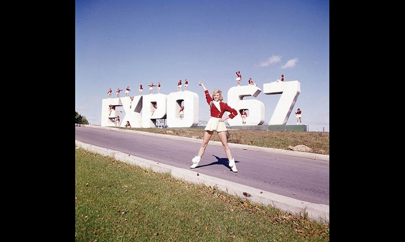 Expo 67 was a morale booster for Montreal and for Canada, which was also celebrating its centennial. (Photo: ©National Archives of Canada)