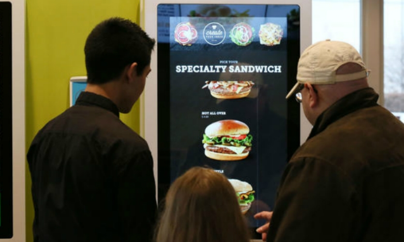 In Chicago, McDonald's is engaging customers with digital kiosks they use to order custom sandwiches.