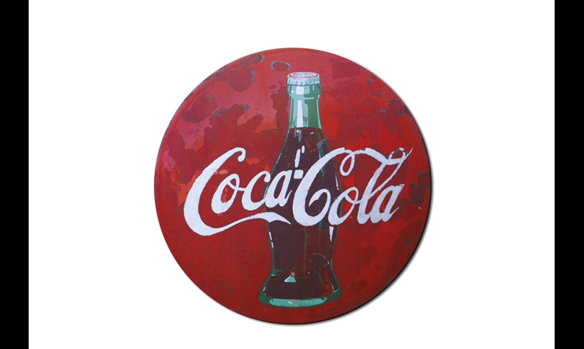 Porcelain Enamel Signs (1920s). The start of the modern permanent sign business. Porcelain enamel soon replaced paint for durable, colorfast advertising signs. Still-pristine 100-year-old Coca-Cola signs attest to its durability.