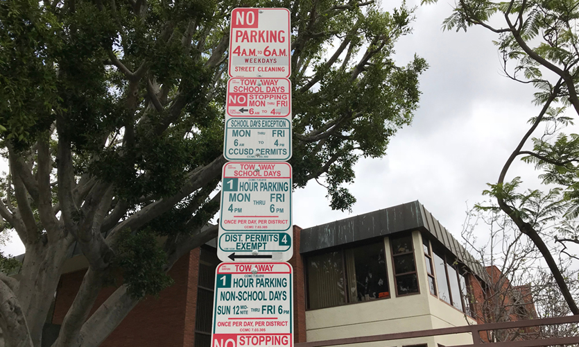 Confusing Parking Sign, Photo courtesty of Joseph Mackereth