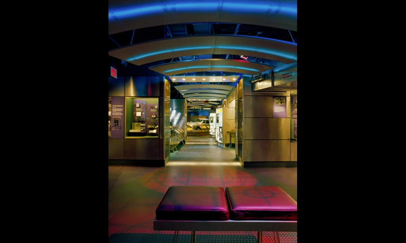 The International Spy Museum was Washington, D.C.'s first for-profit museum, and G&A not only provided museum planning and exhibition services, but helped the client with development of a for-profit business model. (Photo: © Wyatt Gallery)