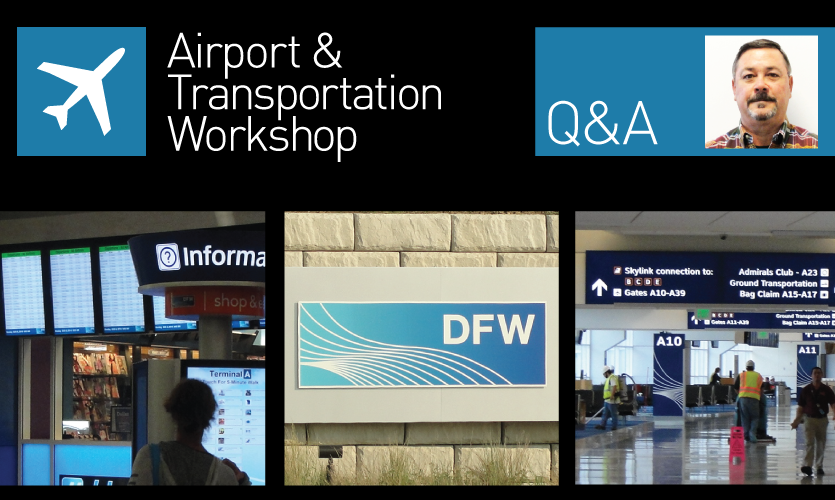 The 2014 SEGD/ASMN Airport & Transportation Workshop happens September 25-26 at DFW International Airport.
