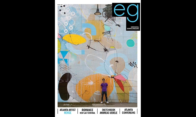 HENSE is featured in eg magazine No. 08.