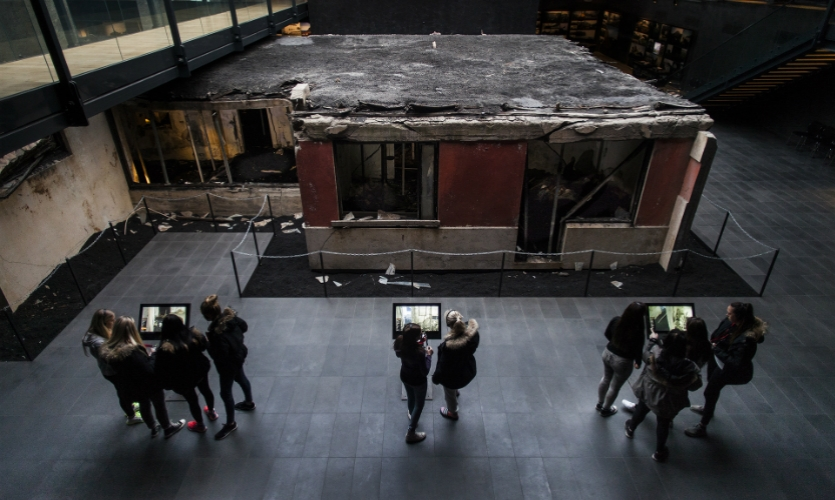 The Eldheimar exhibition and building itself is centered around a house, Gerdisbraut 10, which was excavated 35 years after the eruption.