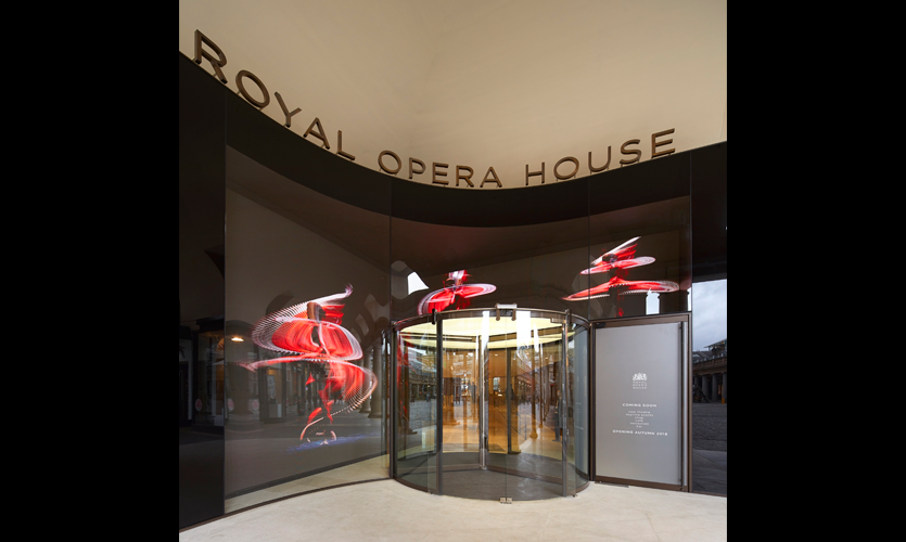 Royal Opera House Wayfinding by Endpoint