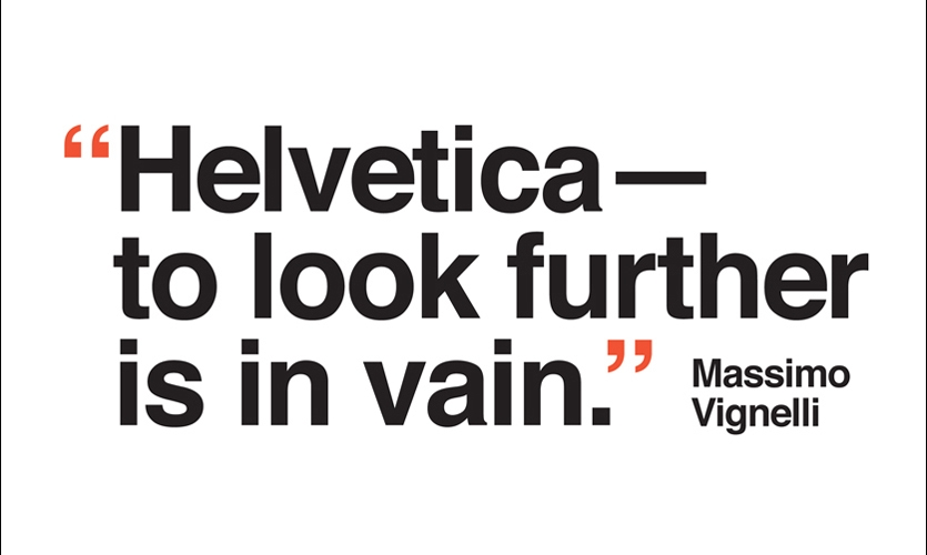 Helvetica (1957). Enough said. Except maybe: Thank you, Max Miedinger.