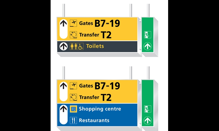 Airport Wayfinding And Graphics Segd