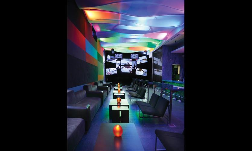 Karu and Y restaurant, Miami. Design: Levine Calderin & Associates. Fabrication: Eventscape.