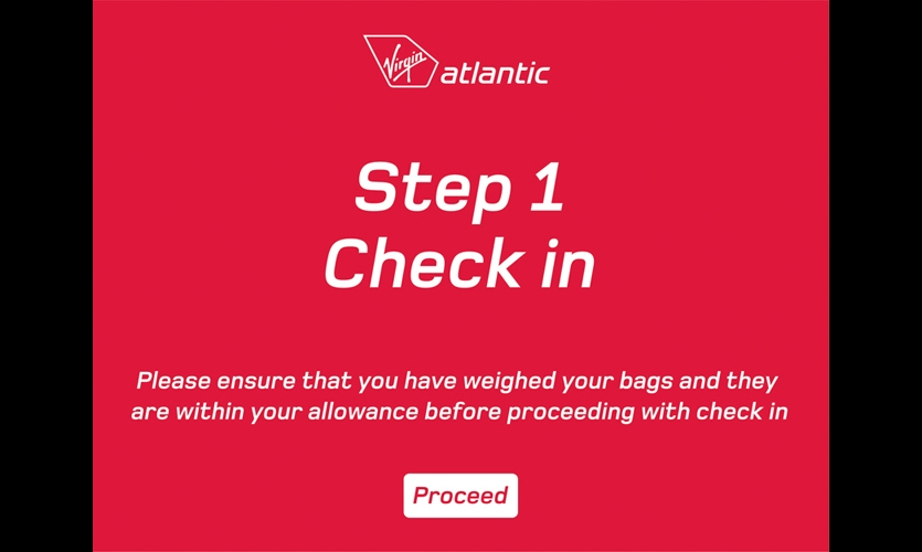 Holmes Wood also wrote the script and designed the graphics for check-in kiosks. Step-by-step instructions correspond to wayfinding system cues while reinforcing the warm and friendly Virgin brand. Passengers can print customized maps with their tickets off-site.