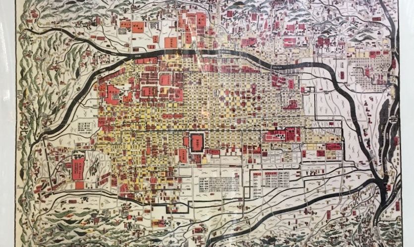 """Maps: Various wayfinding maps, some of them in keeping with old """"perspectives"""""""