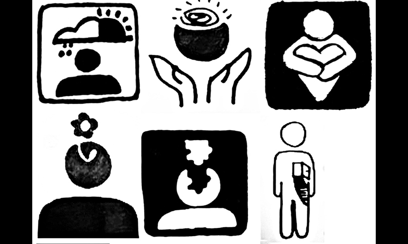 Hablamos Juntos Universal Health Care Symbols Segd