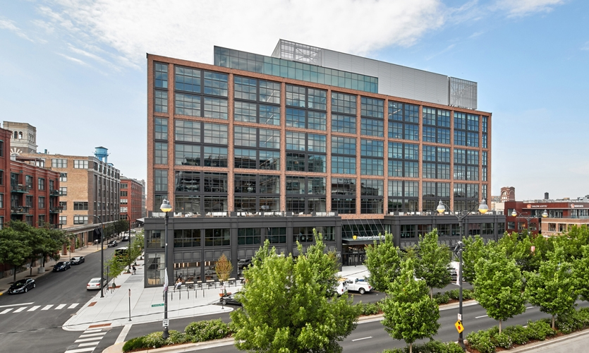 McDonald's Global Headquarters—a 490,000-square-foot, nine-story building located in Chicago's West Loop
