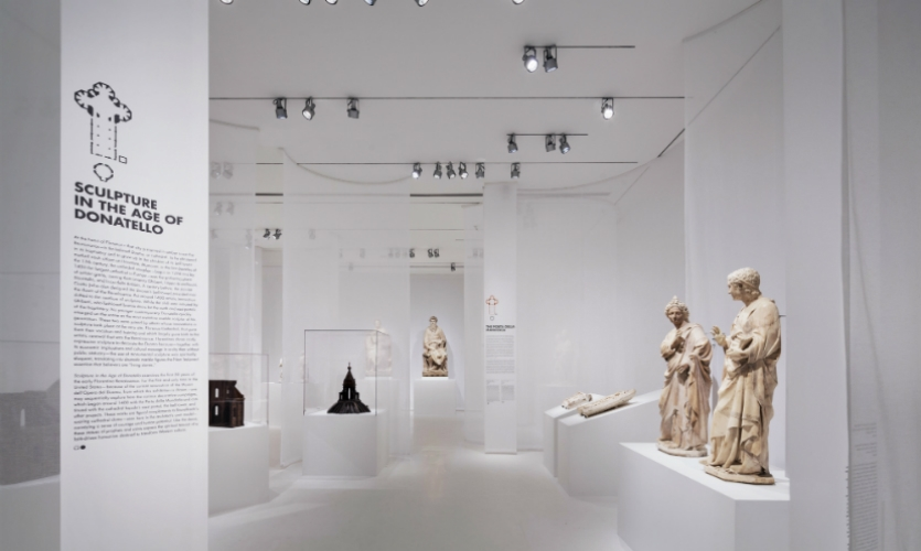 Sculpture in the Age of Donatello, an exhibit at the Museum of Biblical Art, is the latest in a string of award-winning projects by Studio Joseph.