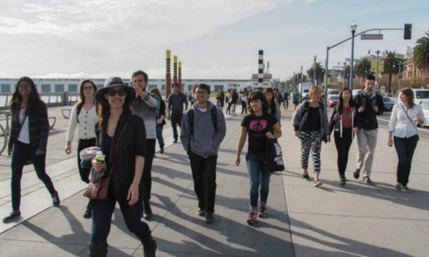 A walk on the Embarcadero