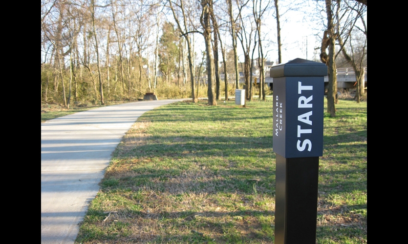 Bicycle Trail Signage And Environmental Graphics Segd