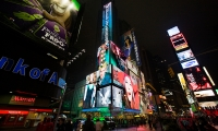 Time Square, American Eagle Outfitters Flagship Spectacular, American Eagle Outfitters, The Barnycz Group
