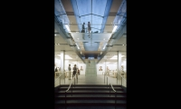 Staircase, Apple Soho, Apple Computer, Bohlin Cywinski Jackson, Ronnette Riley Architect, Apple Graphic Design, Eight, Inc.