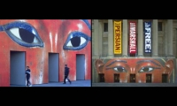 Exterior Graphics, Brooklyn Museum of Art, Pentagram