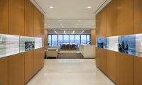Two Walls with Raised Panels, Branded Environment, Confidential financial services client, Ayers Saint Gross